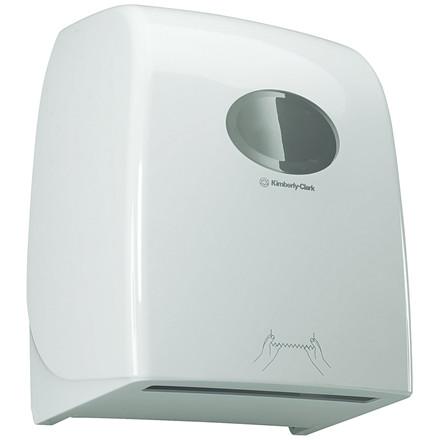 Dispenser, Kimberly Clark, til håndklæderuller, hvid,