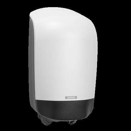 Katrin 90106 Centerfeed S Dispenser til aftørringspapir - Hvid plast