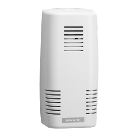Katrin 92001 Ease Air Freshener Dispenser - Til duftblok - Hvid plast