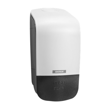Katrin 90205 Soap Dispenser 500 ml til sæbe & foam - Hvid plast