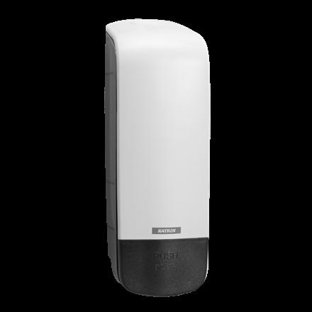 Katrin 90229 Soap Dispenser 1000 ml til sæbe & foam - Hvid plast