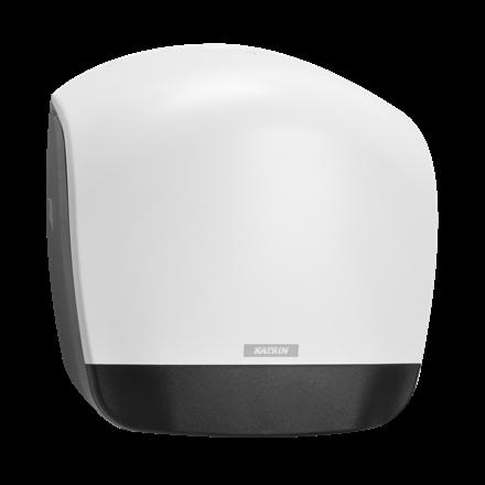 Katrin 90083 Gigant L Dispenser til toiletpapir - Hvid plast