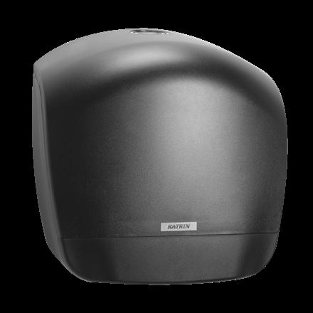 Katrin 92162 Gigant L Dispenser til toiletpapir - Sort plast