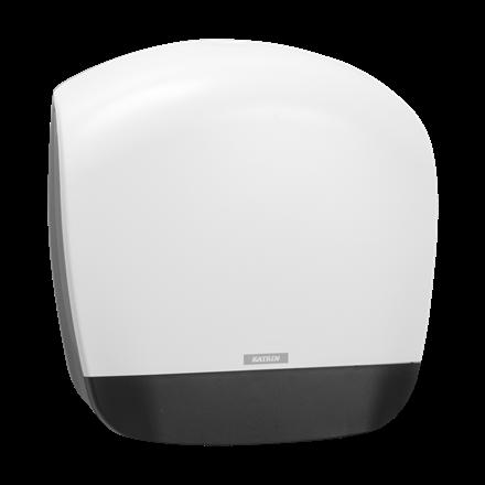 Katrin 90069 Gigant S Dispenser til toiletpapir - Hvid plast