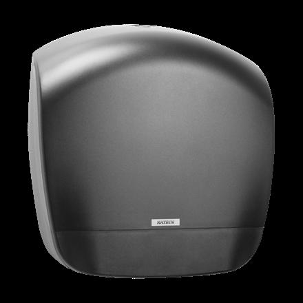 Katrin 92148 Gigant S Dispenser til toiletruller - Sort plast