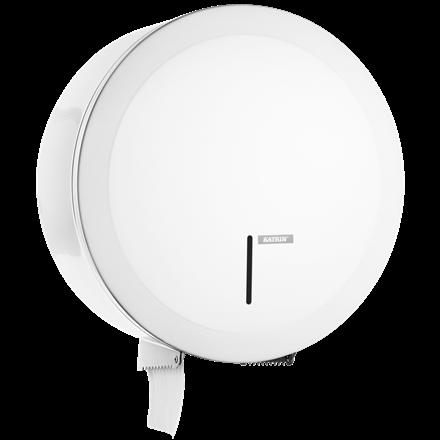 Katrin 997016 Gigant L Dispenser til toiletpapir - Hvid metal