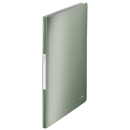 Præsentationsmappe A4 med 20 lommer Leitz Style - Grøn