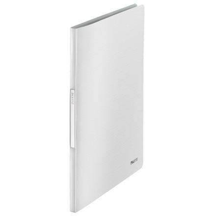 Leitz Style præsentationsmappe A4 med 40 lommer - Hvid