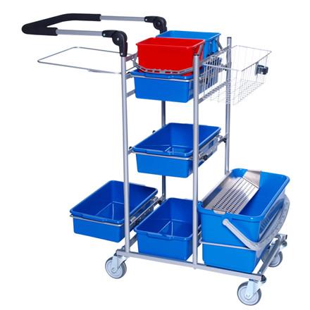 Drypsystem, ERGO, Indeholder: 2 holdere til lille plastbakke, spandeholder lille, sækkeholder 110 lt