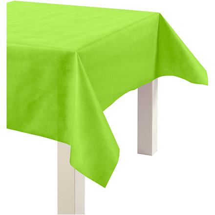 Dug af imiteret stof, B: 125 cm, 70 g/m2, lime grøn, 10m