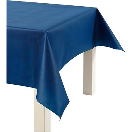 Dug af imiteret stof, B: 125 cm, 70 g/m2, mørk blå, 10m