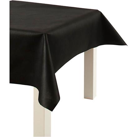 Dug af imiteret stof sort bredde 125 cm 70 gram/m2 - 10 meter