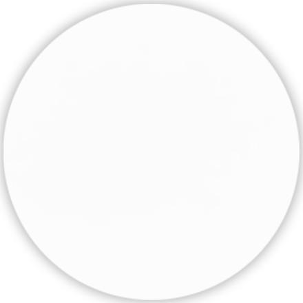 Dug Dunicel rund hvid Ø 180 cm - 20 stk