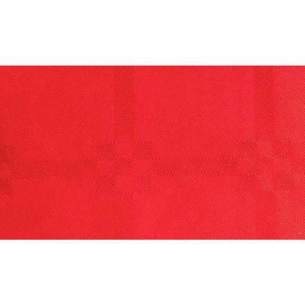 Dug, Gastro-Line, damask, rød, 100% genbrugsfibre,  118cm x 5.000cm,