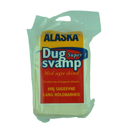 Alaska Dugsvamp Super 1 - Med ægte skind