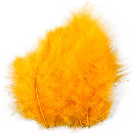 Dun størrelse 5-12 cm gul - 15 stk.