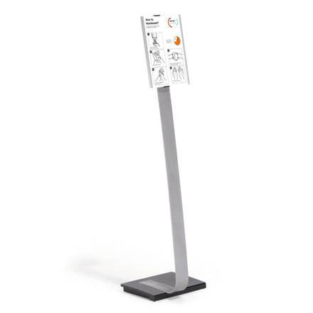 Durable INFO Sign Gulvstander - Skilteholder til A4