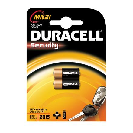 Duracell Security MN21 batteri - 2 stk i pakken