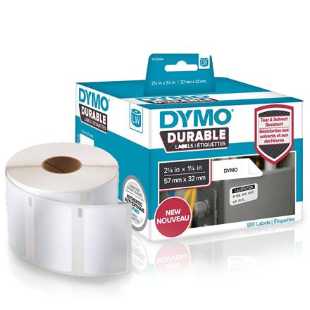 Dymo 1933084 - Holdbare Industrielle Etiketter til LabelWriter 57 x 32 mm - 800 etiketter
