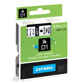 Dymo D1 tape 9mmx7m black/white
