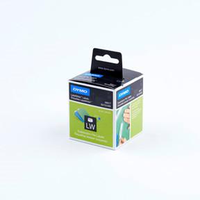 Dymo LW Suspension File labels 12x50 permanent white (220)