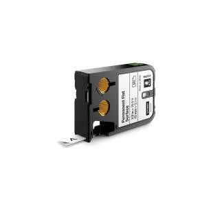 Dymo Tape XTL 12mmx7m perm flat surface bl/whi