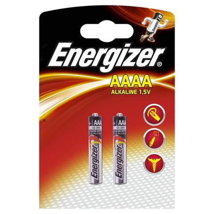 Energizer AAAA / LR61 Batterier - 2 stk