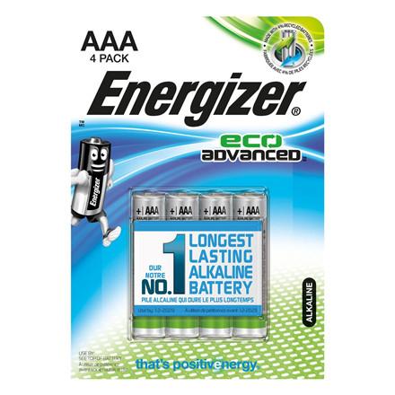 Energizer LR03 - AAA Eco Advanced Batteri - 4 stk