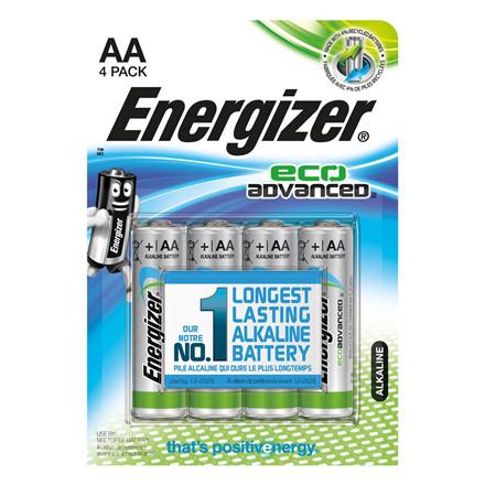 Energizer LR6 / AA Eco Advanced Batteri  - 4 stk