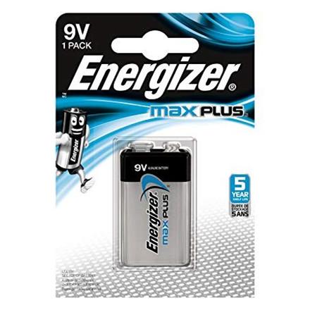 Energizer Max Plus 9v/522 (1-pack)