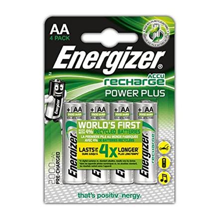 Energizer Rech Power Plus AA 2000 mAh (4-pack)