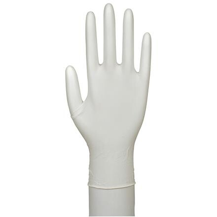 Engangshandske, Boisen Safety, natur, pudderfri, latex, medium,