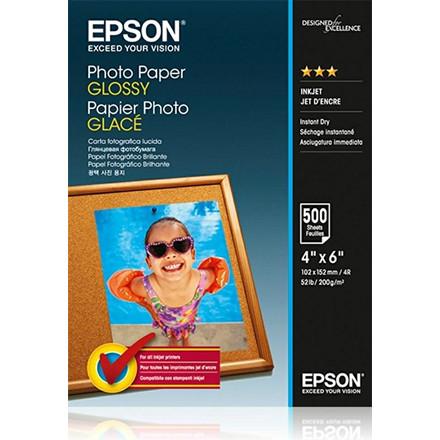 Epson - Foto papir Glossy 10 x 15 cm - 100 ark