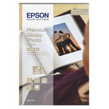 Epson - Premium Glossy foto papir 10 x 15 cm 255 gram - 40 ark Gold