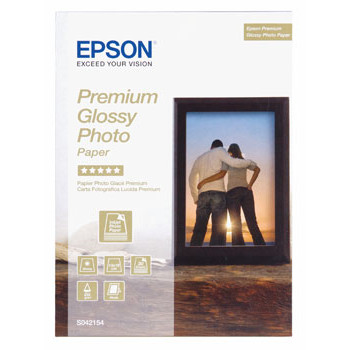 Epson - Premium GlossyFoto papir 13 x 18 cm 255 gram - Gold 30 stk.