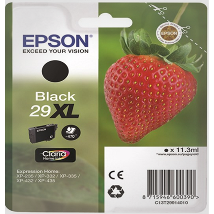 Epson 29XL Black Claria Home Ink