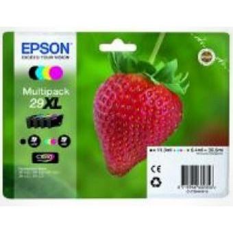 Epson 29XL y/c/m/bl Claria Home Ink w/alarm