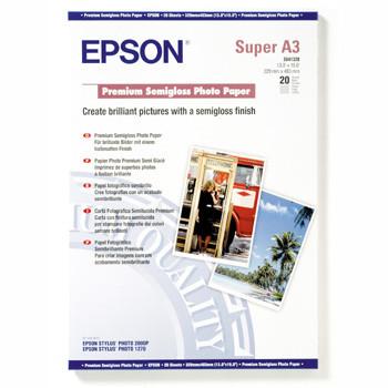 Epson - A3+ Premium Semigloss Photo Papir 251 gram 20 ark