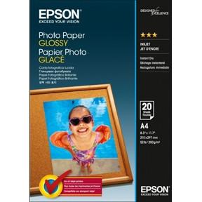 Epson - A4 Foto papir Glossy - 20 ark