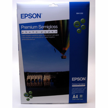 Epson - A4 251 gram Premium Semigloss photo Papir 20 ark
