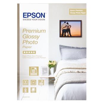 Epson - A4 Premium Glossy Foto papir 255 gram - gold 30 ark