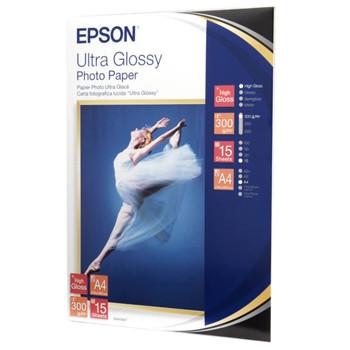Epson - A4 ultra glossy foto papir - 15 ark