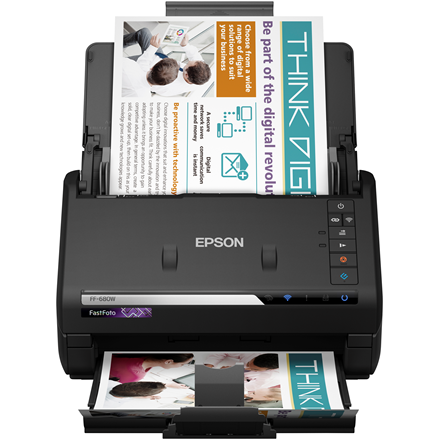 Epson FastFoto FF-680W wireless high-speed scanner