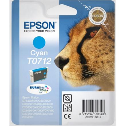 Epson T0712 Cyan Ink Cartridge 5.5 ml