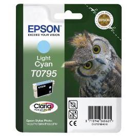 Epson T0795 Light Cyan Ink Cartridge