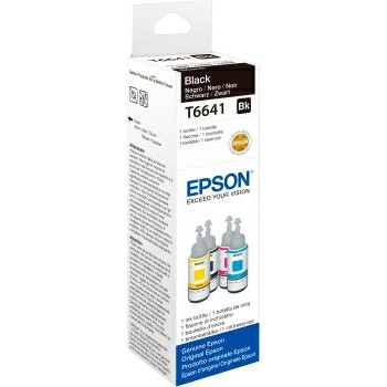 Epson T6641 black ink cartridge