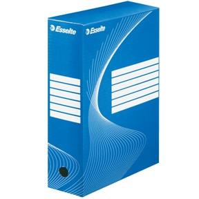 Arkivæske Esselte BOXY 100 blå 34,5 x 24,5 x 10 cm - 128421