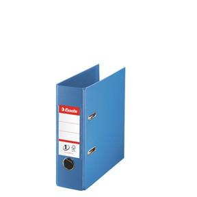A5 brevordner Esselte No1 blå 468650 - 75 mm ryg