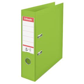 A4 brevordner Esselte No1 med 75 mm ryg | Vivida Grøn