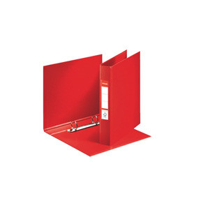 Esselte Ringbinder A5 2RR/25mm red